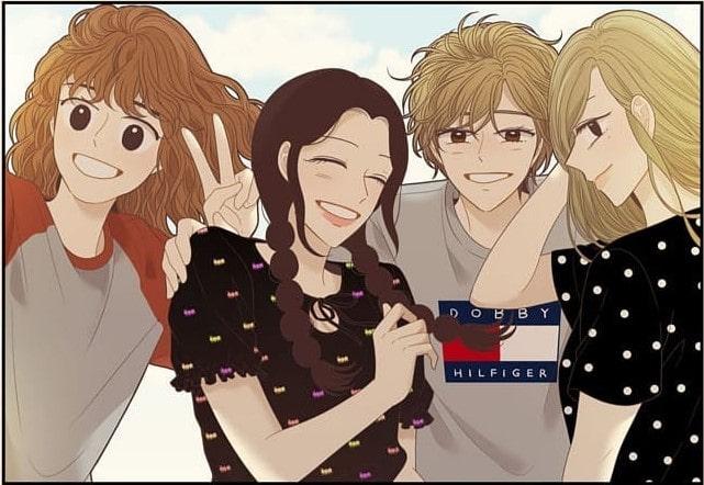 webtoon tentang sahabat terbaik