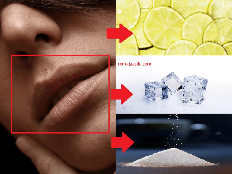 10 Cara Menghilangkan bibir hitam dengan bahan yang pasti ada di rumah!